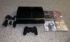 Sony Playstation 3 PS3 60GB Backwards Compatible Console System Lot CECHA01