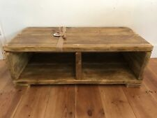 Tv Unit reclaimed wooden scaffolding board handmade