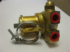 """pump head V6105 PROCON L 82mm 180l/h connection 3/8"""" NPT with bypass brass"""