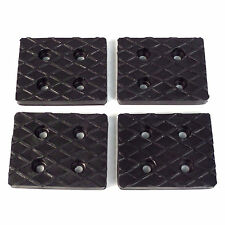 Set of 4 Rubber Arm Pads for Benwil Bishamon Auto Lifts 50564212, 205175