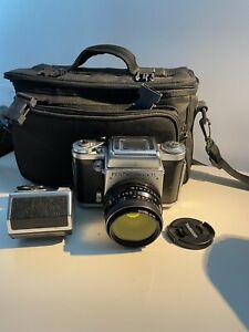 PENTACON six TL Medium Format 6x6cm Camera MC BIOMETAR 80mm f/2,8 Lens TESTED
