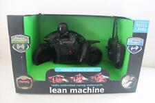 Black Series3 Radio Controlled Racing Motorcycle Lean Machine Toy Matte Black