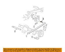 GM OEM Rear Suspension-Shackle Bolt 11516258