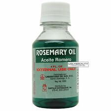 Rosemary Oil Aceite Romero 4 Fl. Oz.