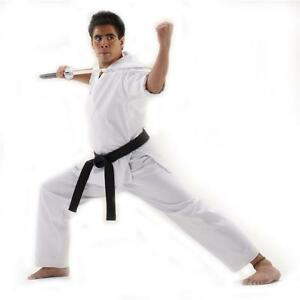 Macho 11 oz. Heavyweight Karate Uniform Taekwondo Gi - White