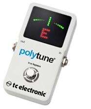TC Electronic Polytune 2 Pedal Tuner New chromatic strobe Tuner Poly tune V2