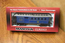MANTUA CLASSICS BALTIMORE & OHIO 1890 COMBINE WOODEN PASSENGER CAR #38 HO SCALE