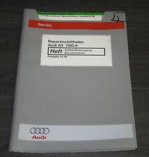Werkstatthandbuch Audi A4 B5 Kraftstoffversorgung Benzin Motoren ab Baujahr 1995
