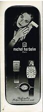 Publicité Advertising 1977 Les Montres Michel Herbelin