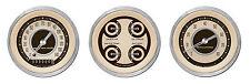 classic instruments nostalgia vt series 2 gauge set nt03shc speedo tach quad