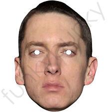 Eminem Celebrity Singer American Rapper Card Mask. All Our Masks Are Pre-Cut!