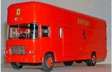 OLD CARS Iveco Ferrari F1 race transporter red working ramp doors 1967 1:43rd