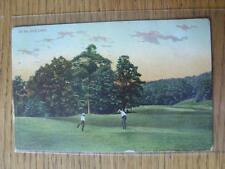 1900's-50's GOLF foto cartolina: NORD AMERICA E CANADA-morristown Nuovo JERS
