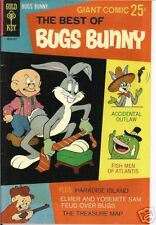 RARE GOLD KEY COMIC GIANT BEST OF BUGS BUNNY, #2, 1968
