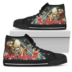 Iron Maiden sneakers NEW size US12 The Trooper edition
