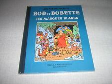 BOB ET BOBETTE VANDERSTEEN LES MASQUES BLANCS (2)