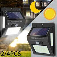 LED Solar Powered Lights Motion Sensor For Outdoor Garden Security Wall Lamp