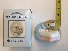 1994 Vintage Beatrix Potter Royal Albert- Peter In Bed