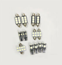 13pcs Car Car Interior LED Bulbs Canbus Kit For 2005-2010 VW Volkswagen Touareg