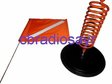 Magnetic Vehicle Safety Flag Kit - Orange Flag - Buggy Whip