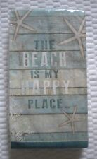 20 Ct 2 ply Paula Scaletta GUEST Paper Towels ~ Napkins Beach is My Happy Place