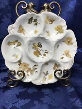 Very Rare C. H. Field Haviland Oyster Plate France
