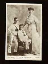 Queen Alexandrina of Denmark Frederick Knud Beagle's Real Photo Postcard Royalty