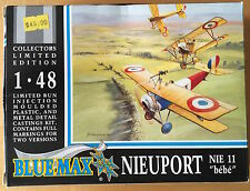 """1/48th scale Nieuport II """"Bebe"""" Produced by Blue Max models"""