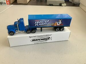 """Matchbox Convoy CY-9 Kenworth Box Truck """"Frosted Flakes"""" See Description"""