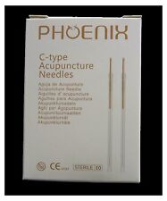 5 Boxes Phoenix acupuncture needles 0.25 x40mm with guide tube
