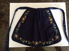 American Girl Doll Kirsten Retired On The Trail Outfit Apron ONLY