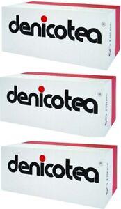 3 x Denicotea Zigarettenspitze Filter 50 Stk. Packung (kurz) / 150 Filter