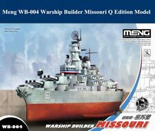 Meng Warship Builder - Missouri Q Edition Egg Ship Kit #WB004