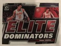 Trae Young 2019-20 Panini Donruss Optic Elite Dominators Insert #13 Hawks NBA