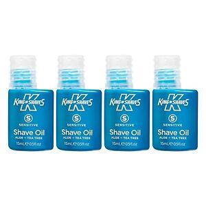 King Of Shaves Mens Shaving Oil Sensitive 15ml, Shaving Products For Men