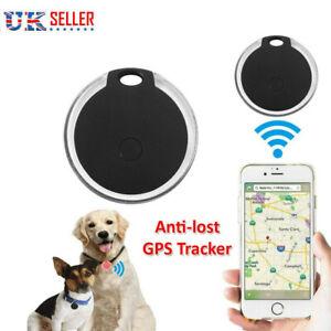 Mini Bluetooth Pet Anti-lost GPS Finder Tracker Device For Kids Cat Dog Keys UK