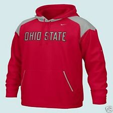 Sweat NIKE NCAA Ohio State Buckeyes Football Américain Taille XL Rouge Neuf