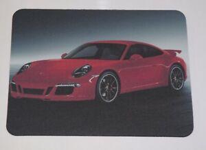 Red Porsche 911 Computer Mouse Pad