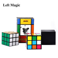 Triple Diko Cube Magic Props Magic Cube Illusion Magic Disappear Toys Tricks
