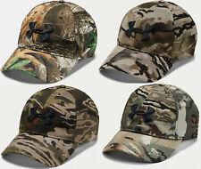 Under Armour Men's UA Storm Camo Hunting Stretch Fit Flex Cap Hunt Hat