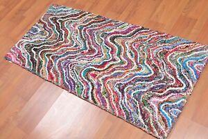 Handmade Modern Handmade Area Rug runner #9743