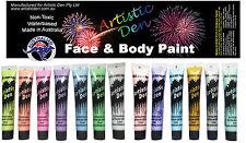 Metallic Face & Body Paints Metallic & Pearlescent Face Paint 13 x15ml