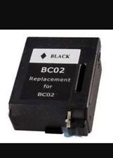 1 x  Rem BC-01 BC-02 BX-2 Black Ink CARTRIDGE For Canon BJ-100 BJ-200 BJC-200