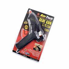 Am-Tech Pistola de Pegamento 50w con enchufe de Reino Unido Pistola de pegamento caliente derretir + 2 pegamento pega S1850