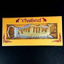 Thai boat Suphan hong bottle opener amazing bar beer metal collectible gift