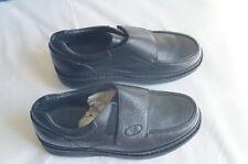 Propet M5015 Men's 8.5XX (5E) Strap Black Leather Classic Style Walking Shoes