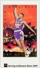 1994 Australia Basketball Card NBL Series 2 New Horizon Card HZ4: M. Donaldson