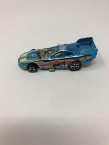 1977 Hotwheels Blue Boylans Beauty Funny Car  HW Hot Wheels