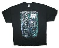 Machine Head Hoist The Head Of Goliath Black T Shirt New Official Merch