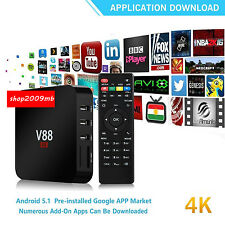 4K Android Smart Tv Box 1080P Smart Multimedia Player Internet Streaming Media